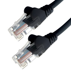 0.3m RJ45 UTP CAT 6 Stranded Flush Moulded Snagless Network Cable