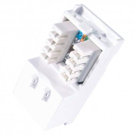 Single IDC RJ45 Module Cat 6